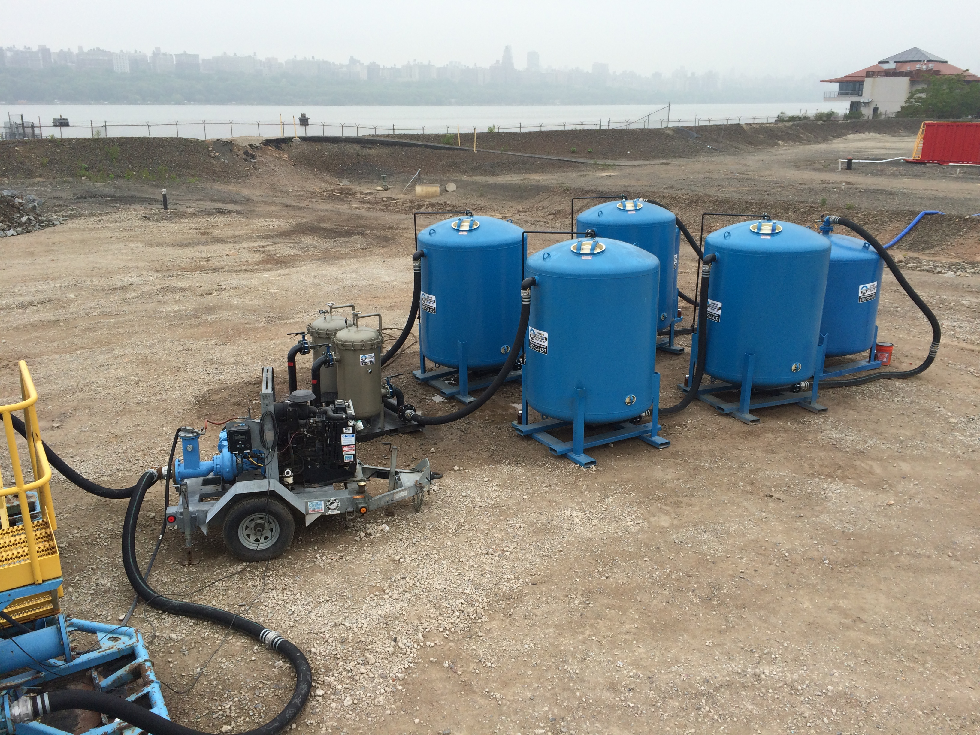 On-Site Water Treatment Services